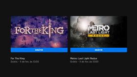For The King e Metro: Last Light Redux estão grátis na Epic Games