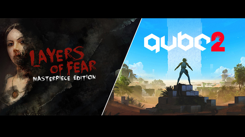 Q.U.B.E. 2 e Layers Of Fear estão gratuitos na Epic Games