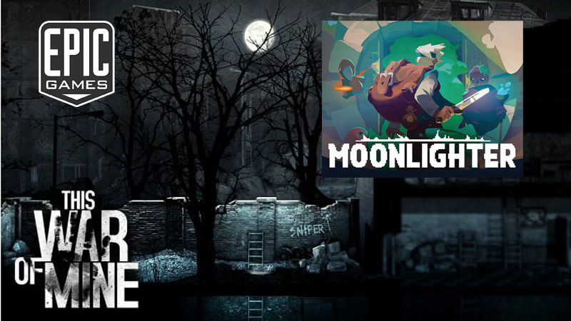 Moonlighter e This War of Mine Grátis na Epic Games