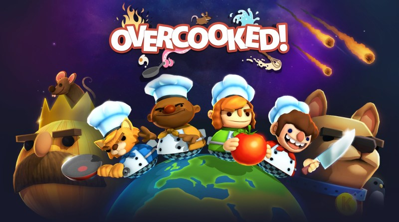 Overcooked! Grátis na Epic Games