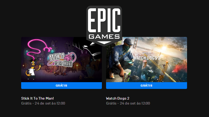 Watch Dogs 2 Grátis na Epic Games