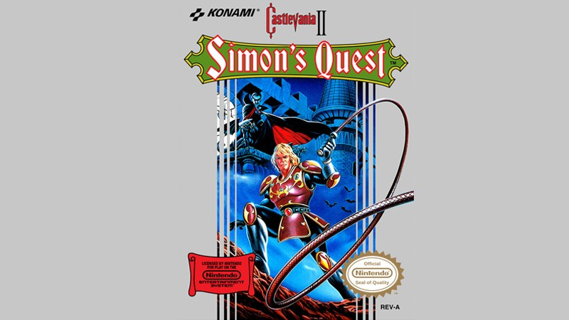 Castlevania 2 - Simon's Quest / Konami (Hexagon)