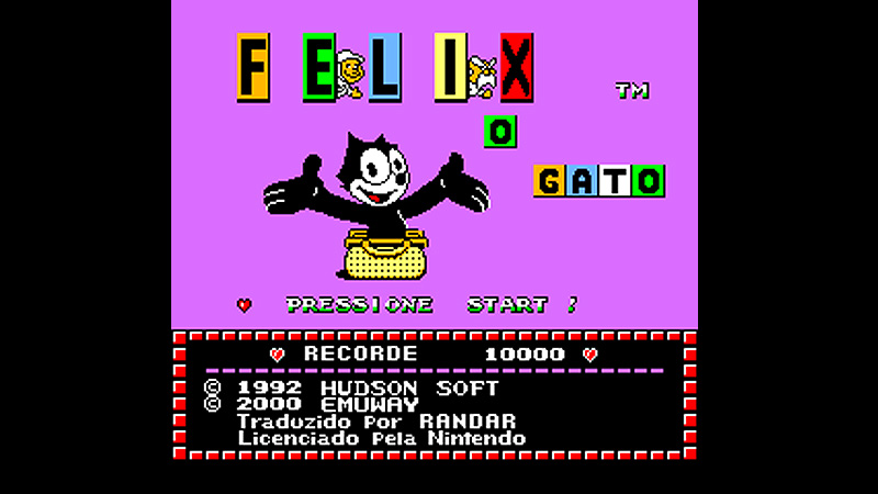 Felix - The Cat (Emuway)