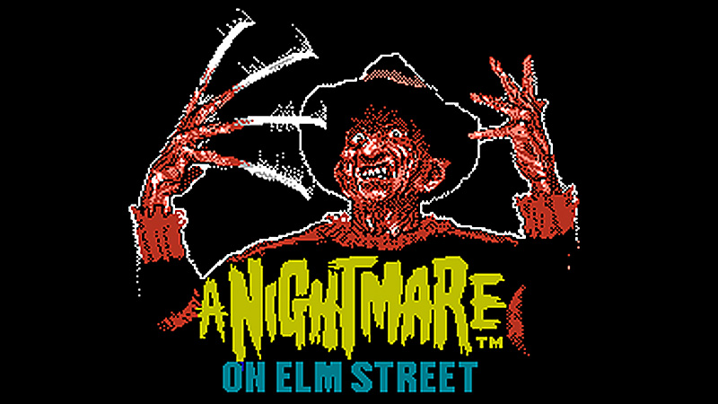 Nightmare On Elm Street, A / LJN Ltd e Rare